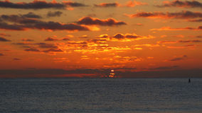 Nascer do sol em Kalama - Kailua, Hawai'i Imagem de Stock