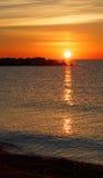 Nascer do sol em Kenosha Fotografia de Stock Royalty Free