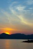 Nascer do sol em Langkawi em malaysia Fotografia de Stock Royalty Free