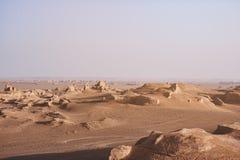 Nascer do sol em Lut Desert imagens de stock royalty free