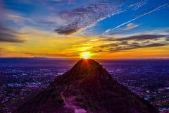 Nascer do sol em Phoenix, o Arizona imagem de stock royalty free