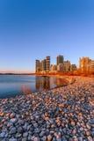 Nascer do sol em Sheldon Lookout Toronto imagens de stock royalty free