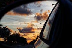 Nascer do sol em Sideview Fotografia de Stock