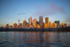 Nascer do sol em Sydney, Austrália Foto de Stock Royalty Free