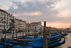 Nascer do sol em Veneza Imagem de Stock
