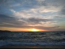 Nascer do sol inesquecível Foto de Stock Royalty Free