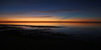 Nascer do sol do leste do cabo Imagens de Stock Royalty Free