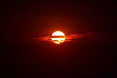 Nascer do sol máximo dos piques Fotos de Stock