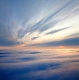 Nascer do sol majestoso imagens de stock