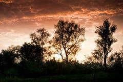 Nascer do sol maravilhoso imagem de stock royalty free