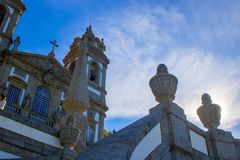 Nascer do sol na catedral Fotografia de Stock Royalty Free