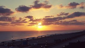 Nascer do sol na costa norte Foto de Stock
