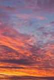 Nascer do sol na manhã Imagem de Stock