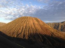 Nascer do sol na montagem Bromo Fotografia de Stock Royalty Free