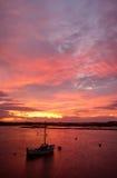 Nascer do sol na ponte de quatro milhas Fotos de Stock Royalty Free