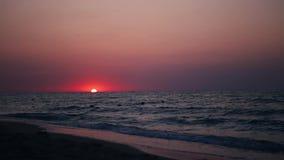 Nascer do sol na praia vídeos de arquivo