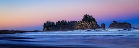 Nascer do sol na segunda praia Fotos de Stock