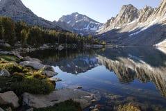 Nascer do sol na serra oriental montanhas de Nevada Foto de Stock Royalty Free