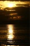 Nascer do sol na vila de Buntal Imagens de Stock Royalty Free