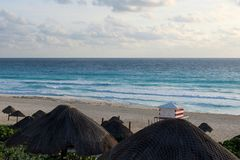 Nascer do sol nas Caraíbas Foto de Stock Royalty Free