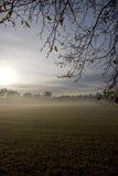 Nascer do sol nevoento Fotografia de Stock Royalty Free