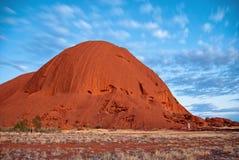 Nascer do sol no interior australiano Foto de Stock Royalty Free