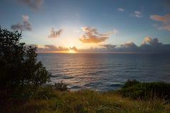 Nascer do sol no louro de Byron Imagens de Stock Royalty Free