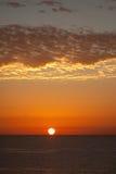 Nascer do sol no Mar Vermelho Imagem de Stock Royalty Free