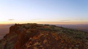 Nascer do sol no Mt E imagens de stock