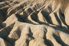 Nascer do sol no ponto de Zabriskie, o Vale da Morte Fotos de Stock