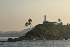 Nascer do sol no porto de Matara em Sri Lanka fotos de stock royalty free