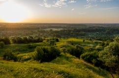 Nascer do sol no verão Imagens de Stock Royalty Free