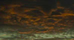 Nascer do sol perigoso Imagens de Stock