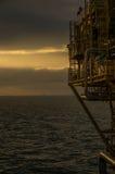 Nascer do sol a pouca distância do mar Imagens de Stock