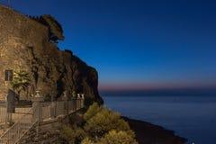 Nascer do sol siciliano Fotos de Stock Royalty Free