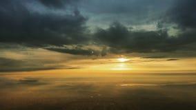 Nascer do sol sobre Áustria Fotos de Stock Royalty Free