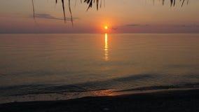Nascer do sol sobre o mar foto de stock royalty free