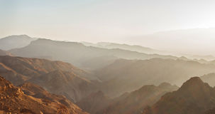 Nascer do sol sobre o Mar Vermelho Imagens de Stock Royalty Free