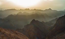 Nascer do sol sobre o Mar Vermelho Fotografia de Stock