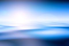 Nascer do sol sobre o oceano ilustração stock
