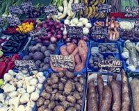Naschmarkt Vienna& x27;s most popular market Stock Photos