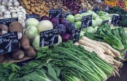 Naschmarkt Viennas most popular market Stock Photo