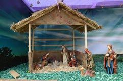 Nascimento da decoração de Jesus Christ Fotografia de Stock Royalty Free