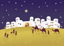 Nascimento das messias Fotos de Stock