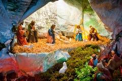 Nascimento de Jesus em Bethlehem Imagens de Stock Royalty Free