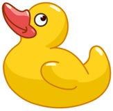 Nascimento do pato de borracha ilustração do vetor