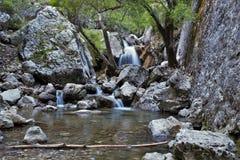 Nascita del fiume di Guadalquivir a Cazorla immagine stock libera da diritti