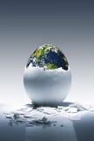 Nascita del pianeta fotografia stock libera da diritti