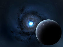 Nascita della supernova Fotografie Stock Libere da Diritti