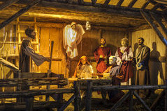 Nascita di Jesus Fotografia Stock Libera da Diritti